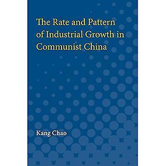 La tasa y el patrón de crecimiento Industrial en la China comunista