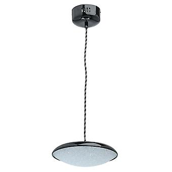 Glasberg - LED Pendant Small Adjustable In Black And White 703011201