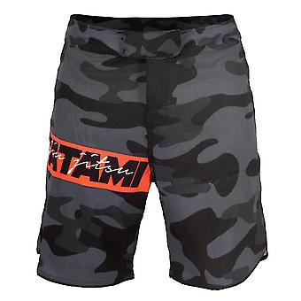 Tatami Fightwear rojo Bar Camo MMA Shorts
