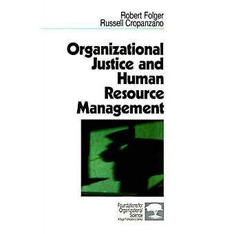 Gestion des ressources humaines Justice organisationnelle par Folger & Robert