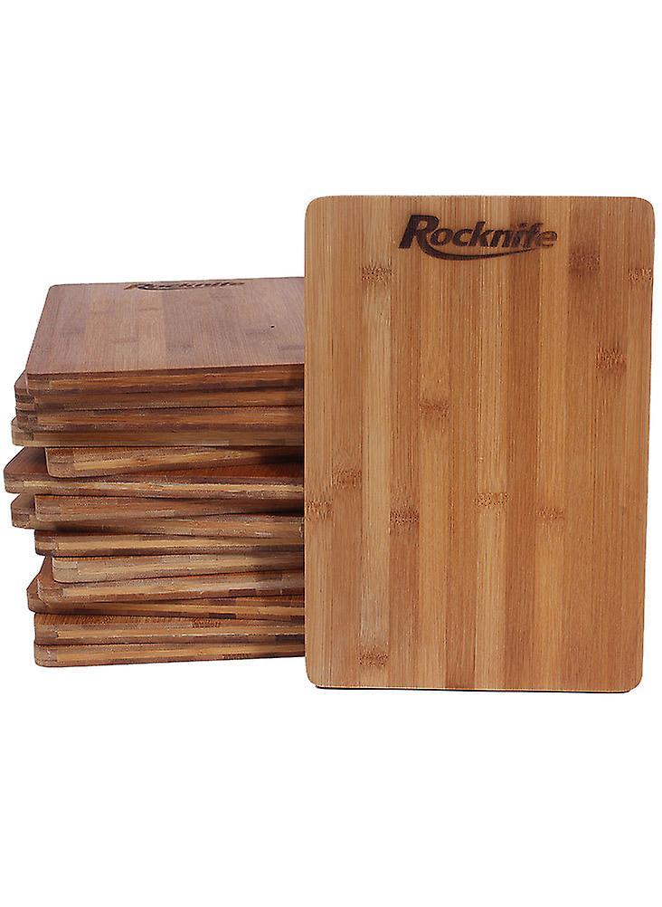 Rechthoek bamboe hakken Board