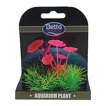 Betta Choice Mini Plant Mat - Pink, Purple & Green