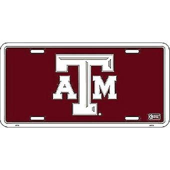 Texas A&M Aggies NCAA License Plate