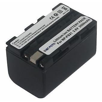 Dot.Foto Sony NP-FS21 erstatningsbatteriet - 3.6v / 2500 mAh