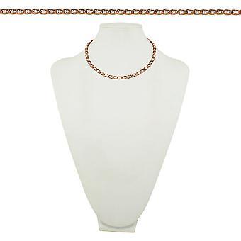 Ewige Sammlung Luxe 18 Zoll österreichischen Kristall und Rose Gold Tone Halskette