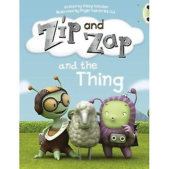 Zip and Zap and the Thing: Yellow A/1c (BUG CLUB)