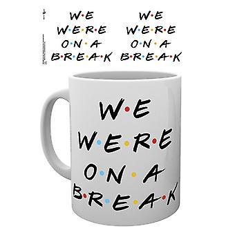 Friends We were on a break Boxed Drinking Mug