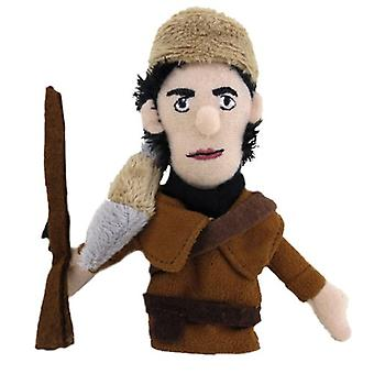 Finger Puppet - UPG - Crockett Soft Doll Toys Gifts Licensed New 2942