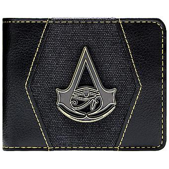 Assassins Creed Origins Gold Crest Coin & Card Bi-Fold Wallet