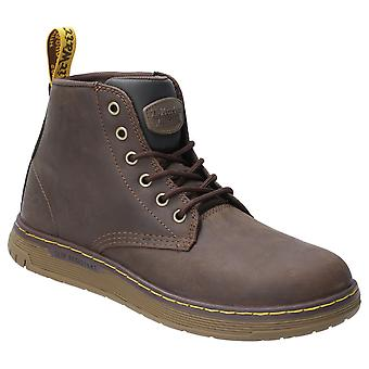 Dr Martens Unisex Ledger S1P Lace Up Safety Boot Brown