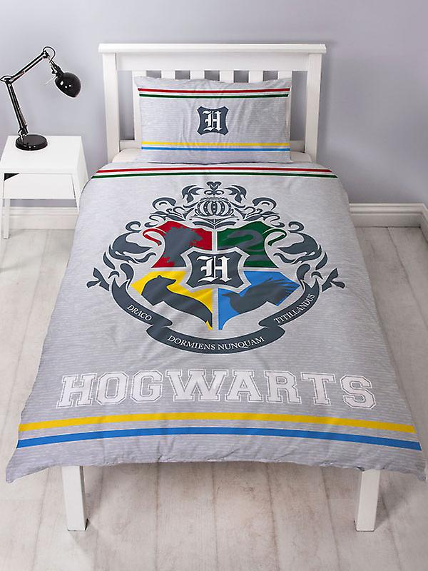 Harry Potter Alumni Single Duvet Cover and Pillowcase Set