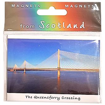 Queensferry Crossing & adiante Magnet por Colin Baxter Photography