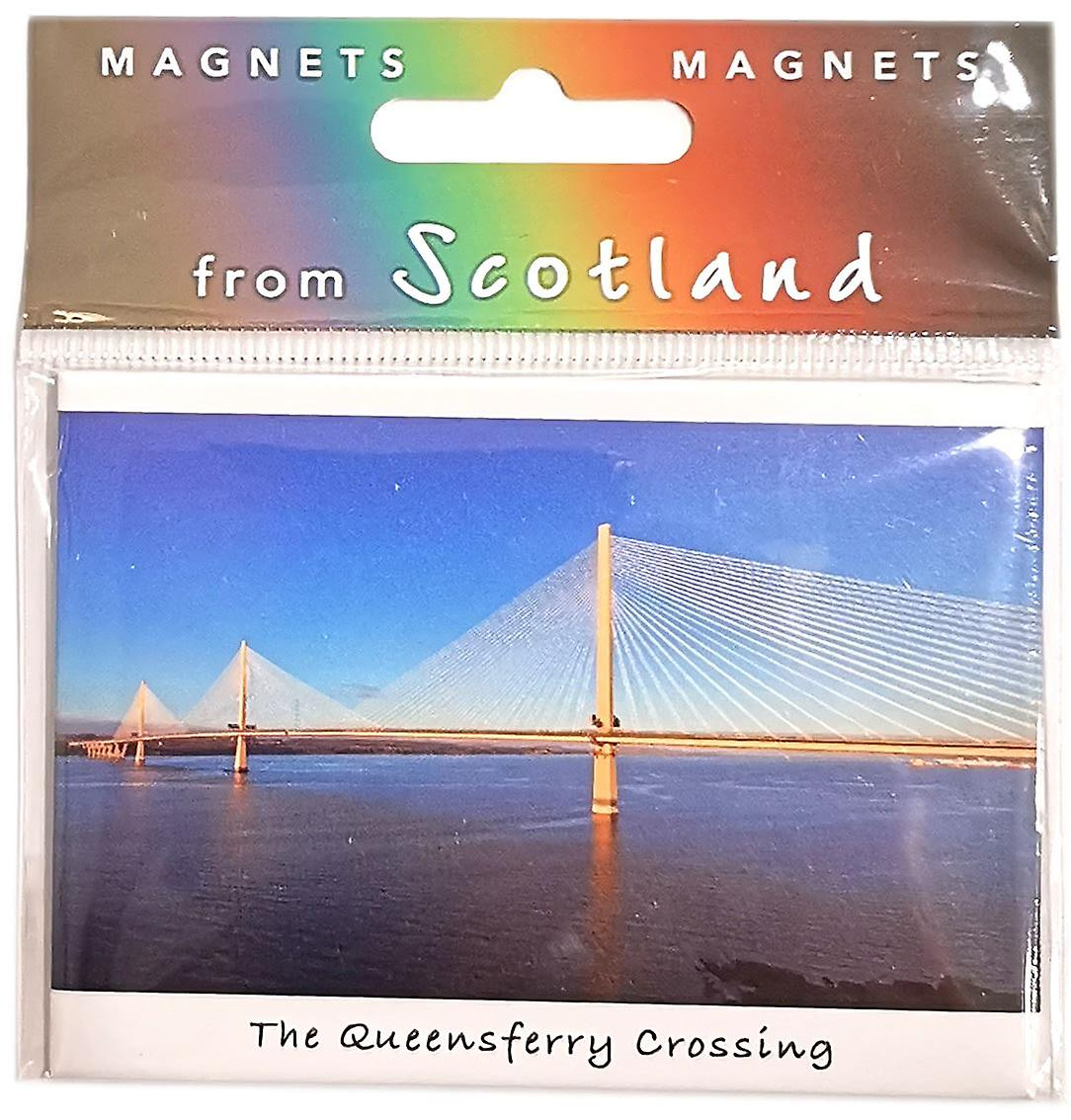 Queensferry Crossing & Forth Magnet by Colin Baxter Photography