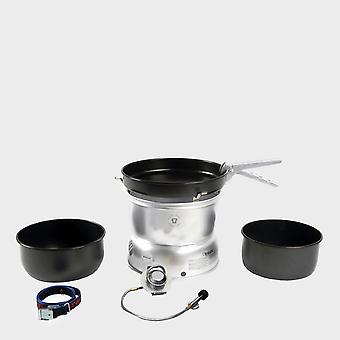 New Trangia 27-5 Stove And Gas Burner Camping Cooking Equipment Silver