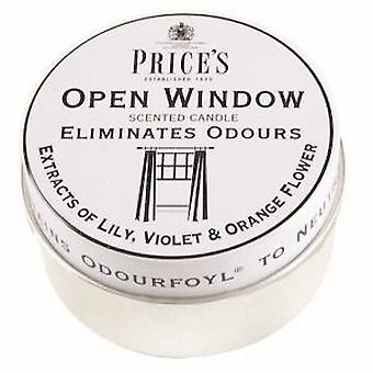 Open Window Candle by Prices 25hr Drum