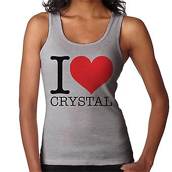 UK Drag Race I Heart Crystal Women's Vest