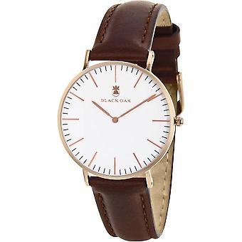 Watch Black Oak BX5790R-136 - watch Leather Brown man