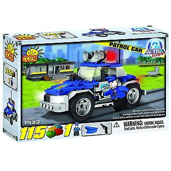 Action Town 115 Piece Police Patrol Car Construction Set