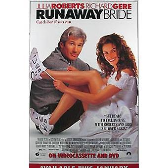 Runaway Bride (Video) Original Video/Dvd Ad Poster