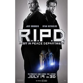 R.I.P.D. Poster Double Sided Advance (2013) Original Cinema Poster