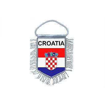Flag Mini Flag Country Car Decoration Croatia Croatian