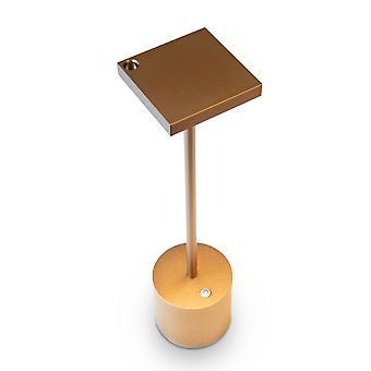 Absolut Liberty licht batterij lamp Titanium gouden tafellamp