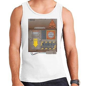 The Crystal Maze Lock In Board Rust Men's Vest