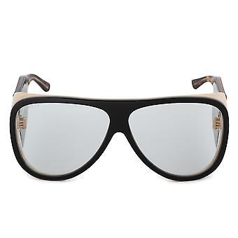 Gucci Oversized Aviator Sonnenbrille GG0149S 002 63