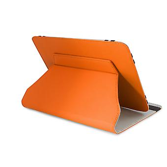 LEO9.7-quot;/10.1-quot; Universal Orange Outer/Grey Inter Tablet Cover