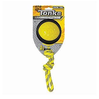 """Tonka Diamond Clad Rope Ball - 4"""""""