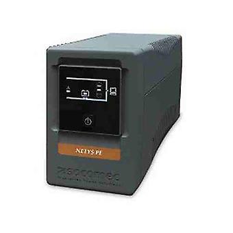 Socomec NeTYS PE 850Va/480W lijn interactieve UPS met AVR