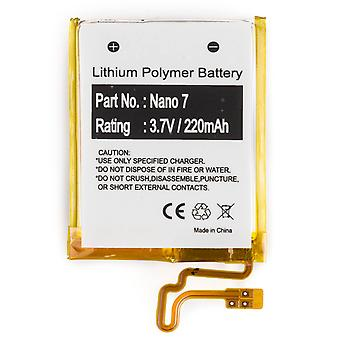 Batteria per Apple iPod Nano 7th Gen 16GB A1446 616-0639 MD481LL/A 616-0640 nuovo
