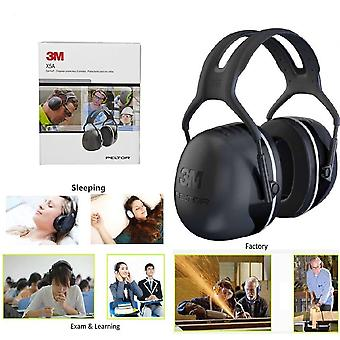 3M Peltor X5 Over-the-Head Earmuffs, Black, One Size Fits Most, 31dB NRR #X5A