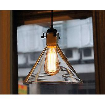 Luciana 1-light Adjustable Height 9-inch Edison Pendant with Bulb