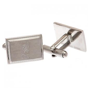Liverpool FC Champions Of Europe Stainless Steel Square Cufflinks