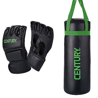 Century Brave Youth Glove and Punch Bag Combo