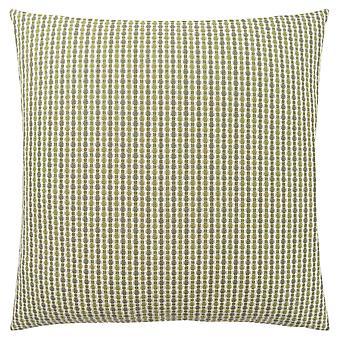 """18"""" x 18"""" Light Dark Green, Abstract Dot - Pillow"""
