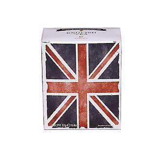 Union jack carton with six tag & envelope teabags