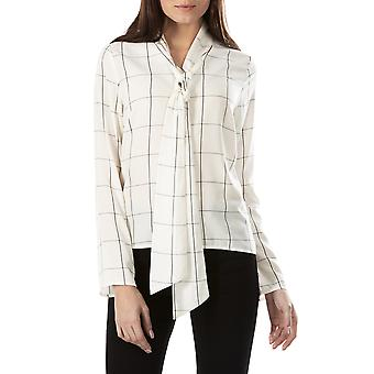 Sugarhill Boutique Femme-apos;s Sarah Check Long Sleeved Blouse