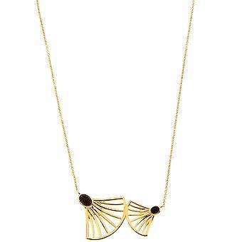 Arielle dor halsketting-zwart Onyx