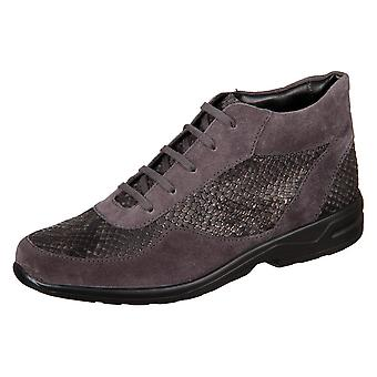 Solidus Hella 28003 20381 Anthrazit Sportvelour Viper 2800320381 universal all year women shoes