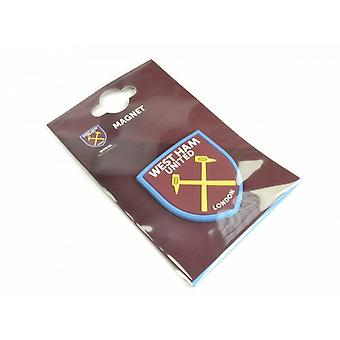West Ham FC Official Football Crest Fridge Magnet