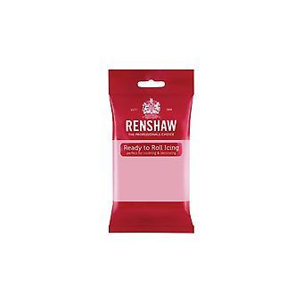 Renshaw Pink 250g Pronto a rotolare Fondant Icing Sugarpaste