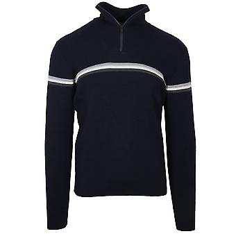 Fusalp Fusalp Navy 'Wengen III' Half Zip Sweatshirt