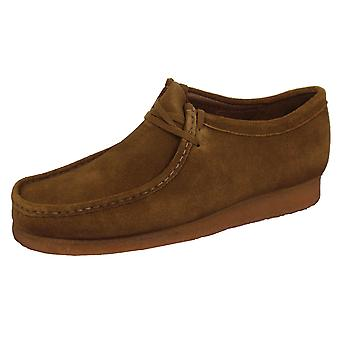 Clarks originals wallabee men's cola shoes