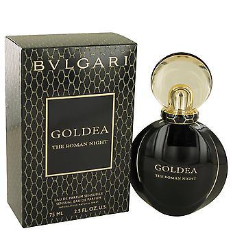 Bvlgari-Goldea der römischen Nacht von Bvlgari Eau De Parfum Spray 2,5 oz/75 ml (Frauen)