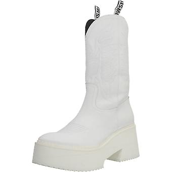 Yellow Boots Tijuana Color White
