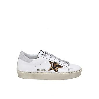 Golden Goose G36ws945m7 Women's White Leather Sneakers