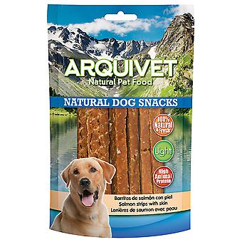 Arquivet Natural Snack for Dogs Salmon Bars with Skin (Dogs , Treats , Natural Treats)