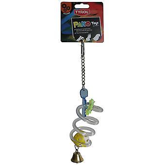 Tyrol Twister Ball Toy Pako Reflex (Birds , Toys)